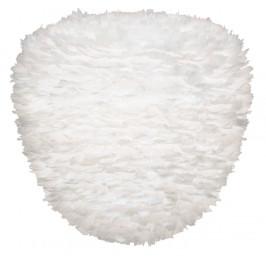 UMAGE Bílé závěsné světlo Eos Evia Large z pravých husích per Ø 55 cm