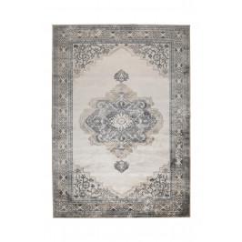 Šedý koberec s orientálními vzory DUTCHBONE Mahal 200x30 cm