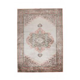 Růžový koberec s orientálními vzory DUTCHBONE Mahal 200x30 cm