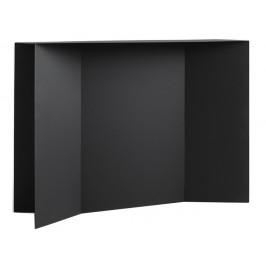 Nordic Design Černý kovový toaletní stolek Elion 100 cm