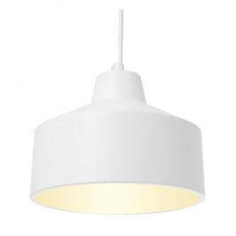 Time for home Bílé kovové závěsné světlo Rubby II