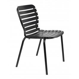 Černá kovová zahradní židle ZUIVER VONDEL
