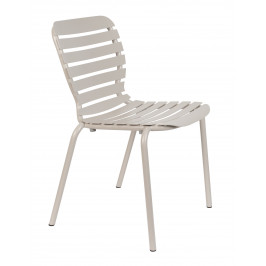 Jílová kovová zahradní židle ZUIVER VONDEL