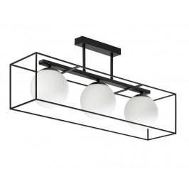 Černé kovové závěsné světlo LaForma Tachi 75 cm