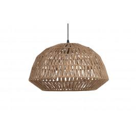 Hoorns Přírodní jutové závěsné světlo Katie 45 cm