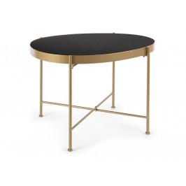 Zlatý kovový konferenční stolek Bizzotto Rashida 63 cm