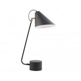 House Doctor Černá kovová stolní lampa Club 54 cm