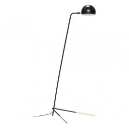 Černá kovová stojací lampa Hübsch Imaren 150 cm