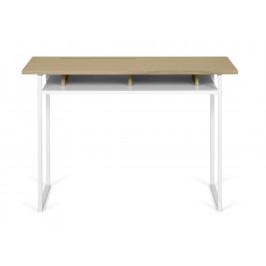 Porto Deco Přírodní dubový pracovní stůl Bereka 110x50 cm