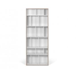 Porto Deco Bílá knihovna Glamut 188x72 cm