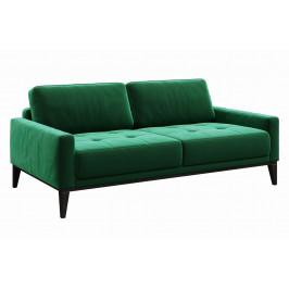 Zelená dvoumístná sametová pohovka MESONICA Musso Tufted 173 cm
