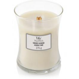 Střední vonná svíčka WoodWick, Smoked Jasmine