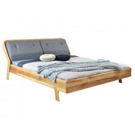 Woody Masivní dubová postel Milenia 180 x 200 cm