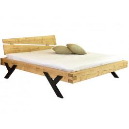 Woody Masivní smrková postel Way 180 x 200 cm