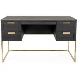 Pracovní stůl Woodman Pilmico, tmavý dub 235001001054 Woodman