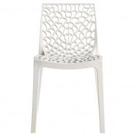Jídelní židle Coral-C, bílá SC03_BI Sit & be
