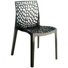 Jídelní židle Coral-C, černá SC03_AN Sit & be