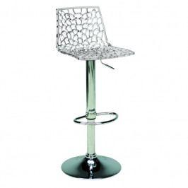 Barová židle Coral, transparentní SC01_TR Sit & be