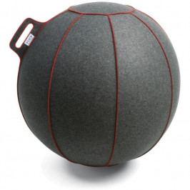 Sedací / gymnastický míč VLUV VELT Ø 75, šedá/červená SBV-001.75GR VLUV