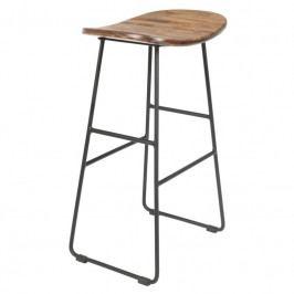 Barová židle WLL TANGLE 65 cm, přírodní 1500074 White Label Living