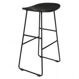 Barová židle WLL TANGLE 65 cm, černá 1500073 White Label Living