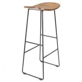 Barová židle WLL TANGLE 80 cm, přírodní 1500076 White Label Living