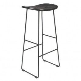 Barová židle WLL TANGLE 80 cm, černá 1500075 White Label Living