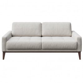 Pohovka MESONICA Musso Tufted, pro 2 osoby, světle šedá Mesonica-Musso-15B-2 MESONICA