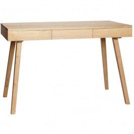Pracovní stůl Hübsch Argo, dub 889004 Hübsch
