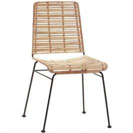 Židle Hübsch Venla, přírodní 110602 Hübsch