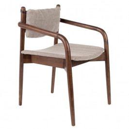 Jídelní židle DUTCHBONE TORRANCE s područkami 1200168 Dutchbone