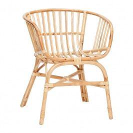 Zahradní židle Hübsch Gimi, ratan 310310 Hübsch