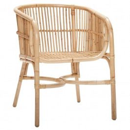 Židle Hübsch Vivien, ratan 310691 Hübsch