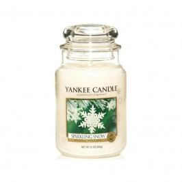 Vonná svíčka Yankee Candle Sparkling Snow, velká 19868 Yankee Candle