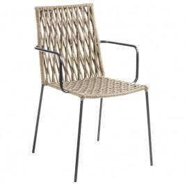 Zahradní židle LaForma Bettie, béžová CC0198J12 LaForma