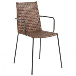 Zahradní židle LaForma Blast, hnědá CC0199F10 LaForma