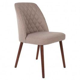 Čalouněná židle WLL CONWAY, látka, béžová 1100332 White Label Living