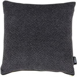 Polštář Nordic Living Boras, 45x45 cm, tmavě šedý 3961021 Nordic Living
