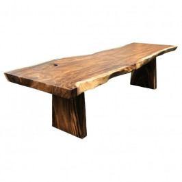 Jídelní stůl Nordic Living Gavle 250x90 cm, masiv/hnědá 2201041 Nordic Living