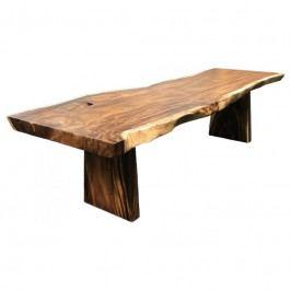 Jídelní stůl Nordic Living Gavle 300x90 cm, masiv/hnědá 2201040 Nordic Living
