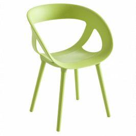 Zahradní židle Amon, plast, zelená MOE2212206 Garden Project