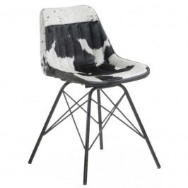 Židle LaForma Tribu, černá/bílá CC0346P60 LaForma