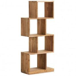 Knihovna LaForma Arundel 132 cm, teakové dřevo AA1222M47 LaForma