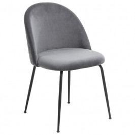 Židle LaForma Mystere, šedá/černá CC0854J15 LaForma