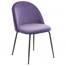 Židle LaForma Mystere, fialová/černý CC0854J16 LaForma