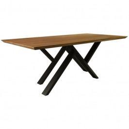 Jídelní stůl MR. W 160 cm, dub/černá MRW-160 take me HOME