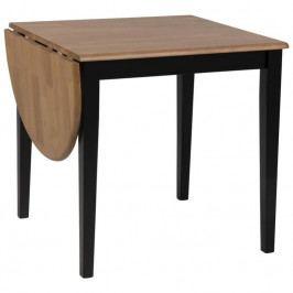 Rozkládací jídelní stůl Brisa 75-115 cm, černá SCHDN0000076755 SCANDI