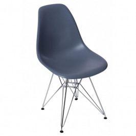 Židle DSR, černá podnož, tmavě šedá | -30 % S80586 CULTY +