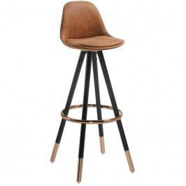Barová židle LaForma Stag 75cm, hnědá CC0379CWQ86 LaForma