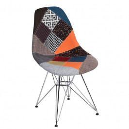 Židle DSR celočalouněná, patchwork | -40 % S80434 CULTY +